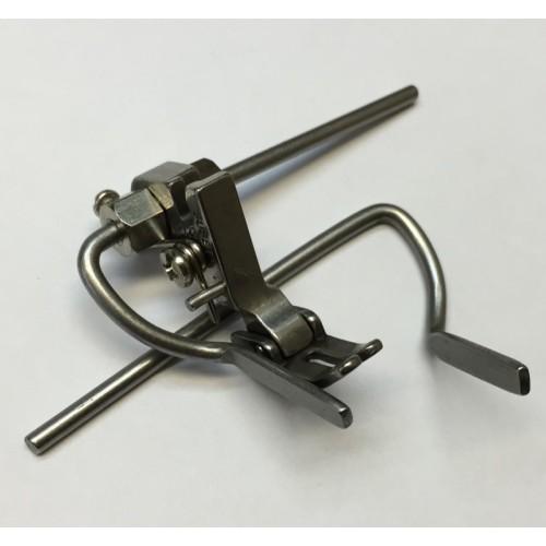 KH P723 лапка для отстрочки с откидной линейкой