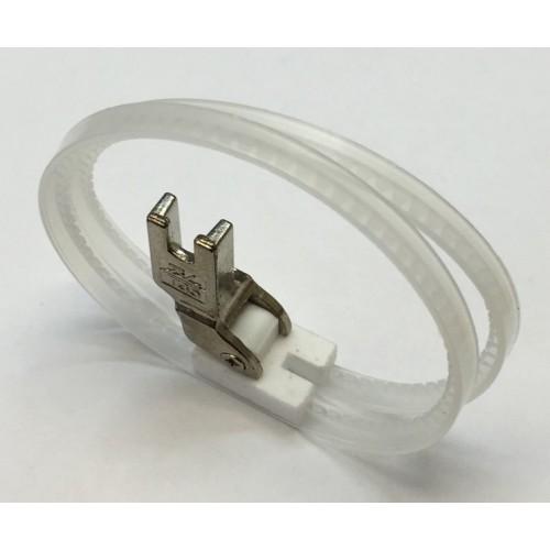 KH TRF-1 лапка с тефлоновой подпружиненной подошвой и кольцами