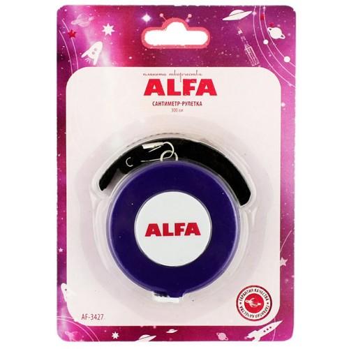 Alfa AF-3427 сантиметр-рулетка 300 см