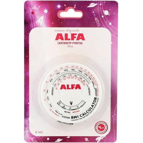 Alfa AF-3453 сантиметр-рулетка 150 см