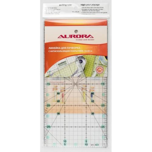 Aurora AU-3015 линейка для пэчворка 15-30 см