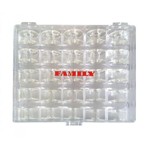 Family 200277051 коробка с 25 шпульками