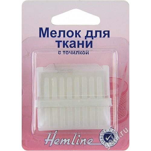 Hemline 246 мелок для ткани с точилкой