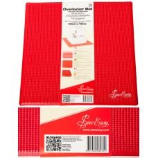 Hemline ER906.RED коврик для оверлока