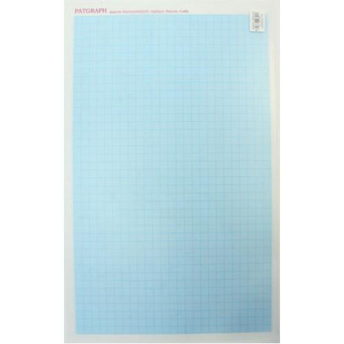 Hemline PATGRAPH шаблон пластиковый с миллиметровой разметкой 25-41 см