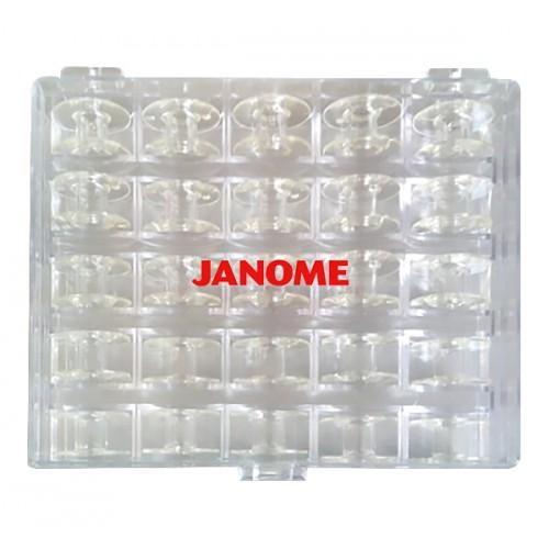 Janome 200277006 коробка с 25 шпульками