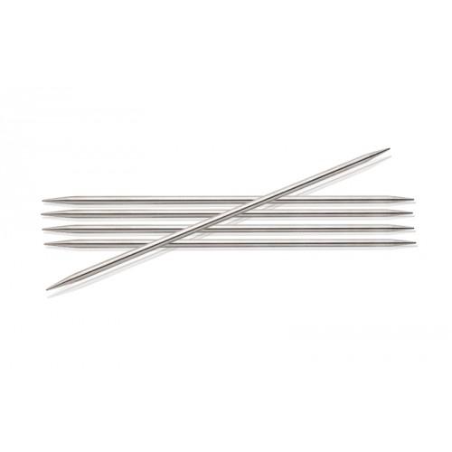 KnitPro 10129 спицы чулочные 10/3 в упаковке 5 шт Nova Metal