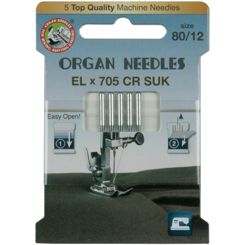 Organ иглы EL705 CR SUK 80 эко