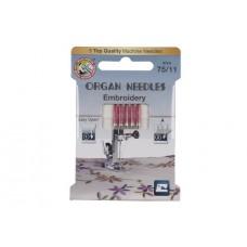Organ иглы embroidery 75 эко