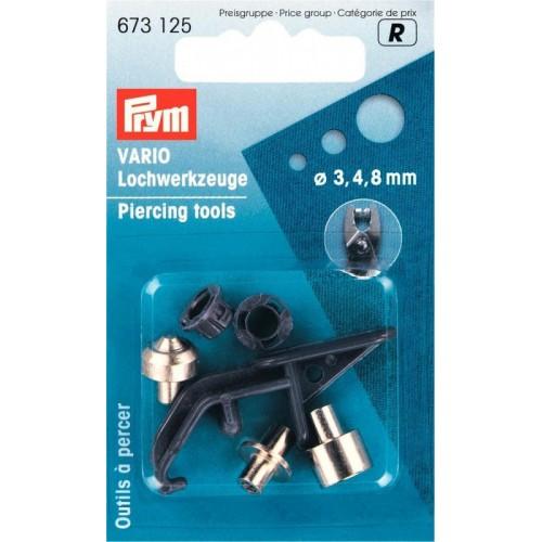 Prym 673125 насадка для пробивания отверстий 3,4,8 мм