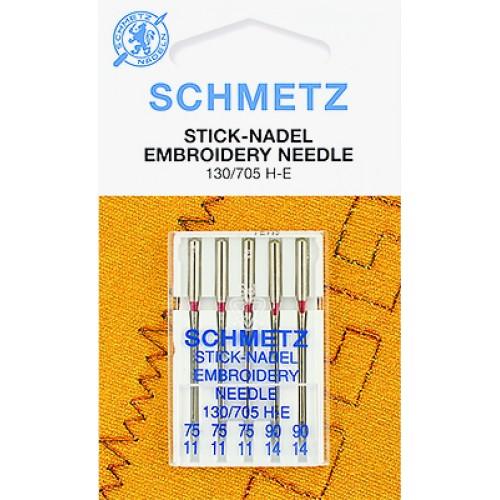 Schmetz иглы вышивальные 75-90