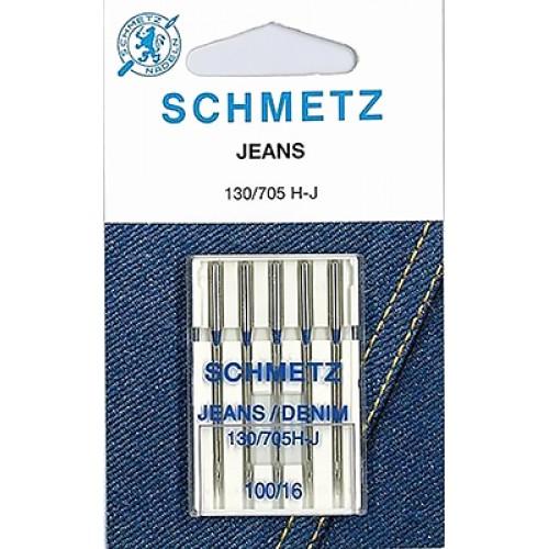 Schmetz иглы джинс 100