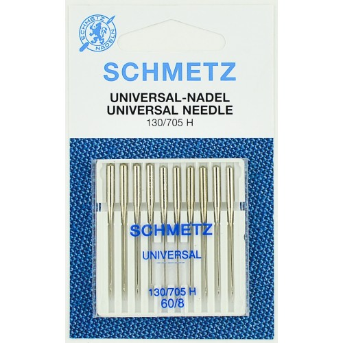 Schmetz иглы универсальные 60 10шт