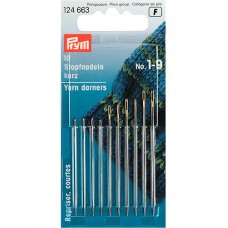 Prym 124663 Иглы штопальные короткие №1-9 10шт