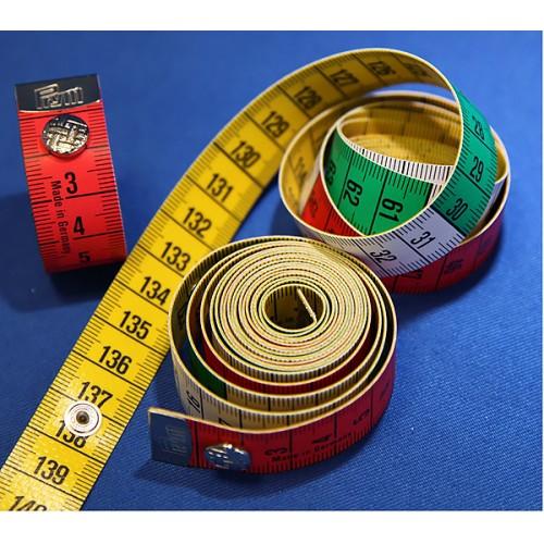 Prym 282460 метр портняжный Color Plus с кнопкой 1.5 м