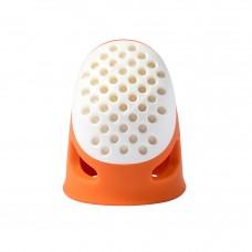 Prym 431135 Напёрсток эргономичный мягкий без упаковки (размер S) оранжевый