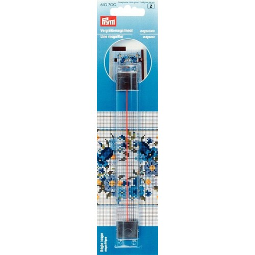 Prym 610700 линейка увеличительная магнитная