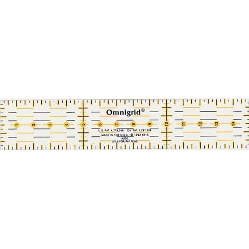 Prym 611317 линейка для пэчворка 3-15 см