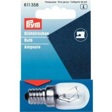Prym 611358 Лампа для швейной машины вкручивающаяся 220V 15W