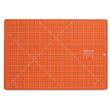 Prym 611466 Раскройный коврик 45х30см, оранжевый