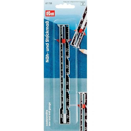 Prym 611738 линейка раскройная для шитья и вязания
