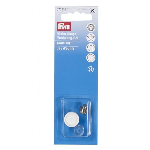 Prym 673115 набор инструментов для щипцов Vario для кнопок Color Snaps